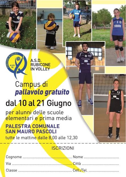 Campus di Pallavolo Giugno 2013 Rubicone In Volley