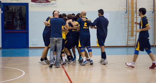Serie C Maschile Rubicone In Volley - Terza vittoria consecutiva