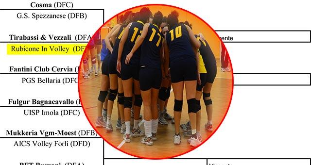 Rubicone In Volley - Play off - Pallavolo Serie D Femminile Emilia Romagna