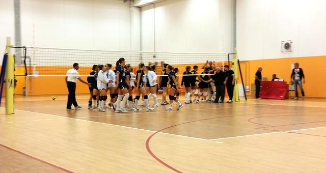 Serie D Femminile Vittoria Rubicone In Volley su Fulgur Bagnacavallo