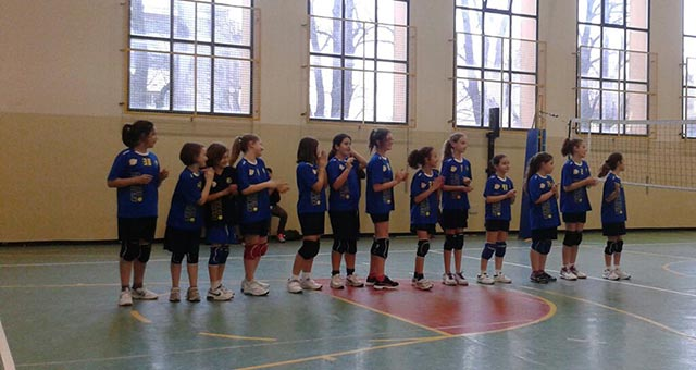 Rubicone In Volley - Under 12 Femminile - RIV Champion Giallo - intro