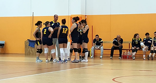 Rubicone In Volley vs Around Team