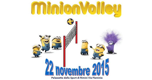 MinionVolley - novembre 2015- Rubicone In Volley - intro