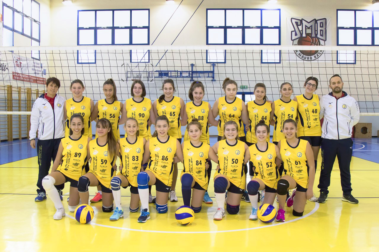 Rubicone In Volley - Under 13 femminile - 2017-2018