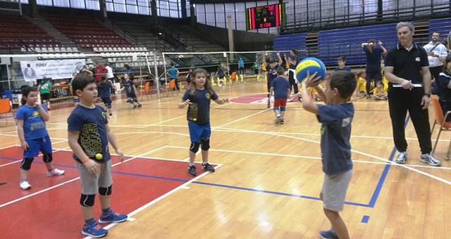 Rubicone In Volley - MinionVolley 2016 Febbraio - MiniVolley - intro