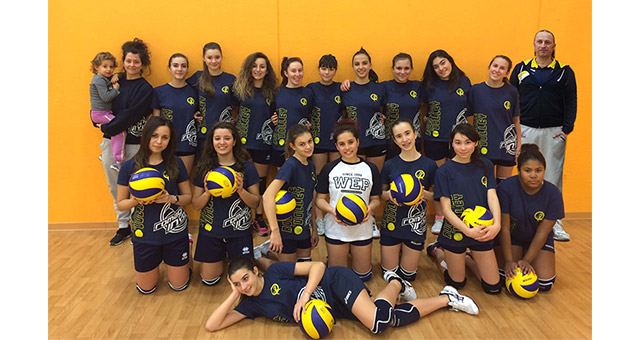 Rubicone In Volley - Under 16 Blu Femminile - 2015-16 - intro