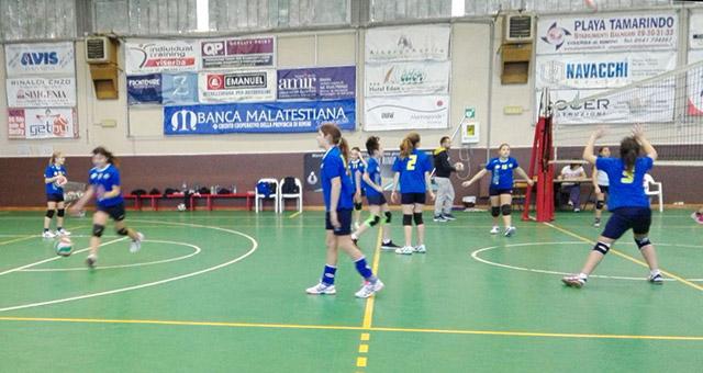 Rubicone In Volley vs Riviera Volley Azzurra - Under 13 Femminile