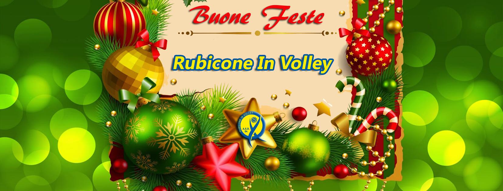 Buone feste dal Rubicone In Volley