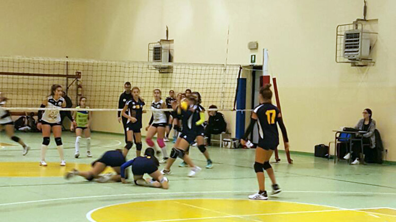 Under 14 F - Rubicone In Volley vs Romagna In Volley 0304