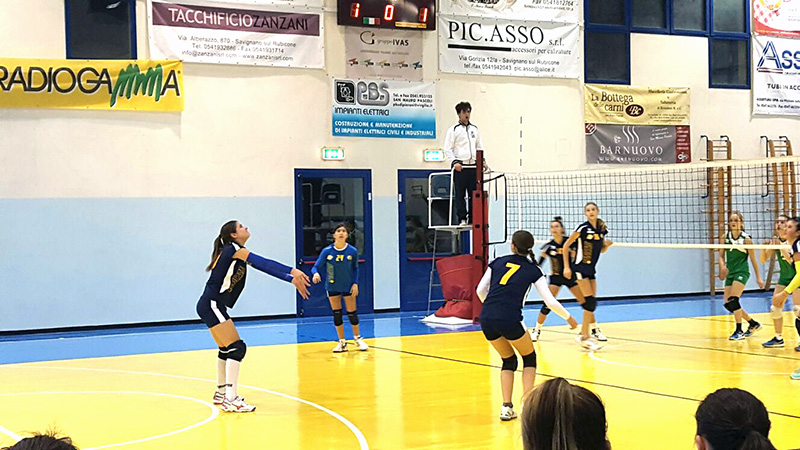 U14 Rubicone In Volley vs Pol Edera Forlì