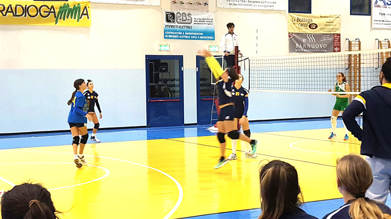U14 Rubicone In Volley vs Pol Edera Forlì