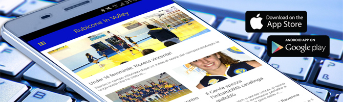 App Rubicone In Volley - iPhone Android