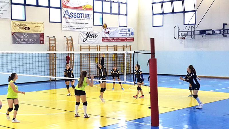 Rubicone In Volley Under 14 femminile - quarto posto Fipav