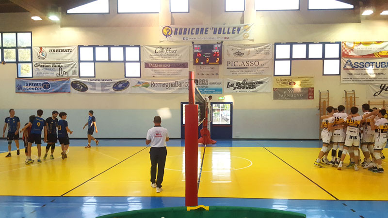 Rubicone In Volley vs Modena Volley