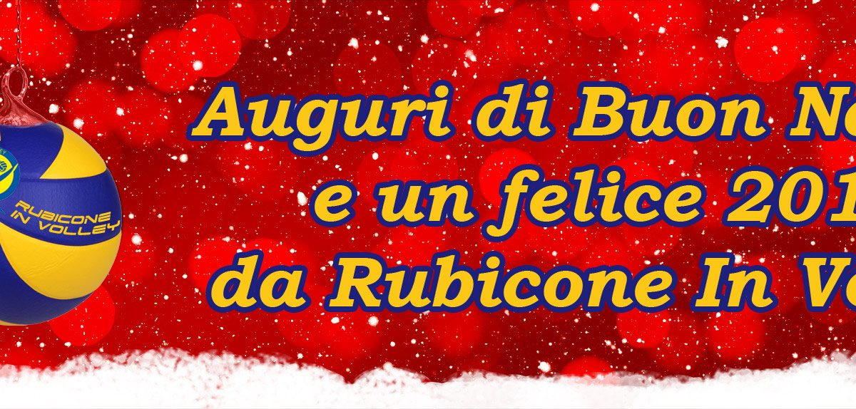 Rubicone In Volley auguri Natale 2018