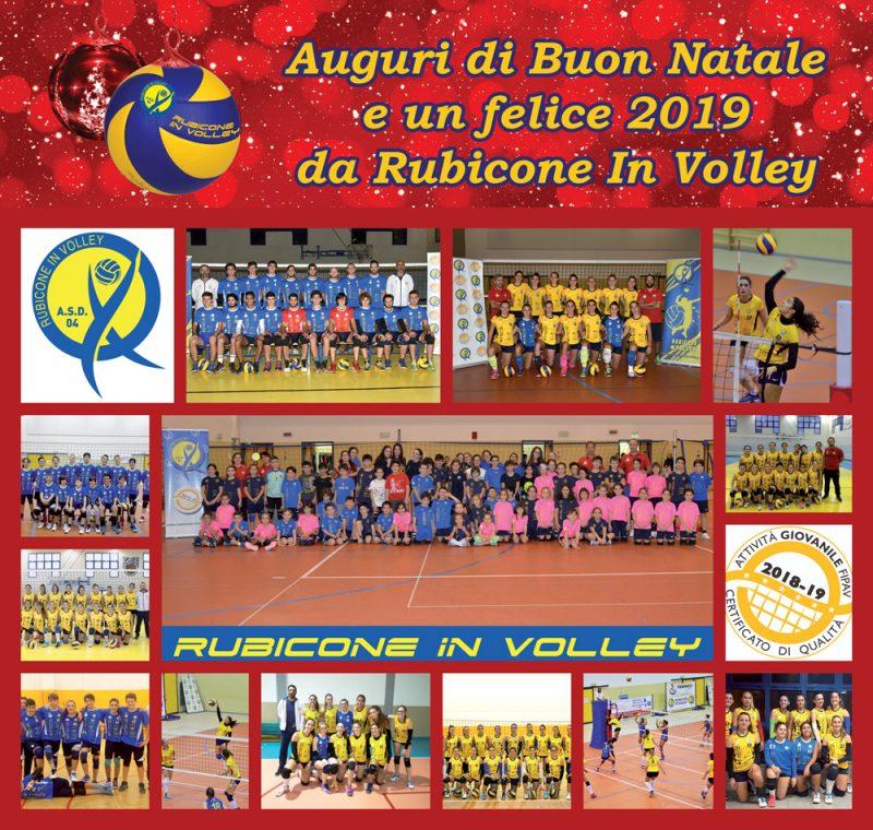 Rubicone In Volley - buone feste 2018