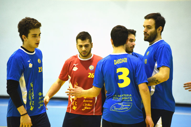 1aDM - Rubicone In Volley bordo campo