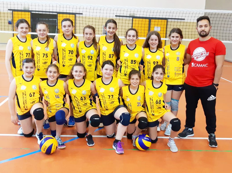 Rubicone In Volley Under 13 femminile 2018-2019