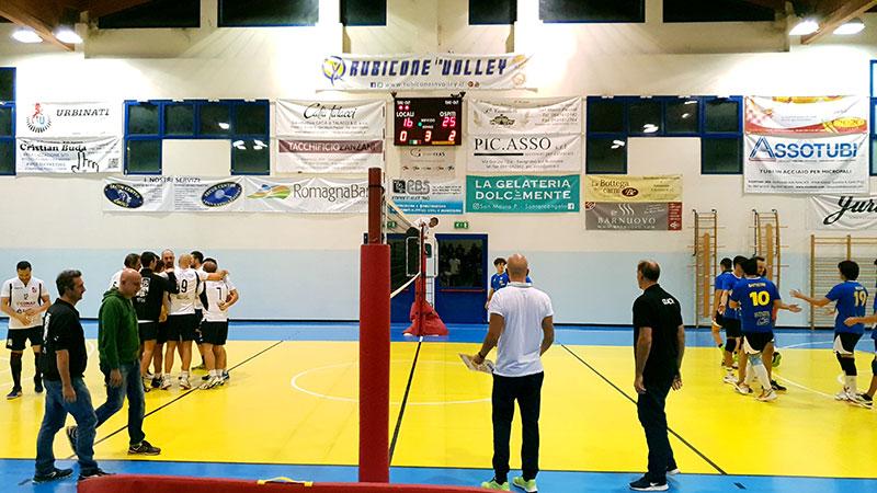 Rubicone In Volley vs Fulgur Bagnacavallo