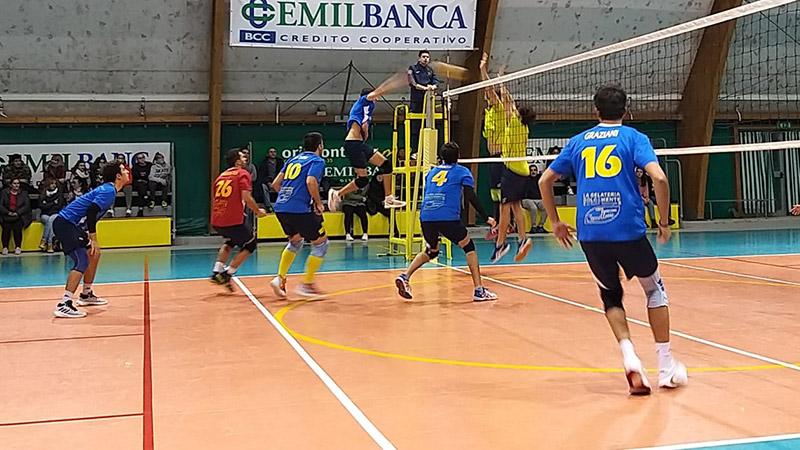 Argenta vs Rubicone In Volley
