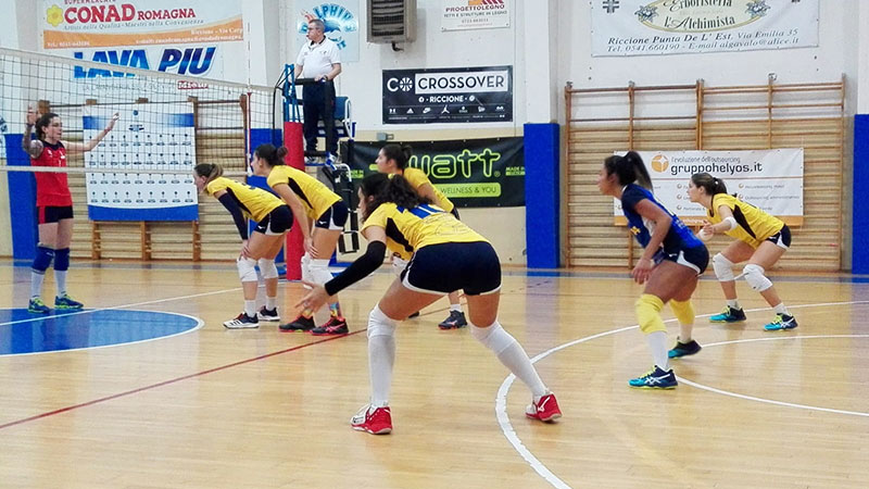CF - Riccione vs Rubicone In Volley